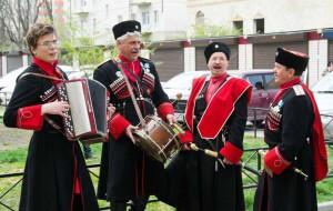 Народный творческий коллектив казачий ансамбль «Разгуляй» с. Старомарьевка